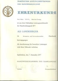 Terrazzo Bundessieger, Peter Hess, Terrazzo HWK